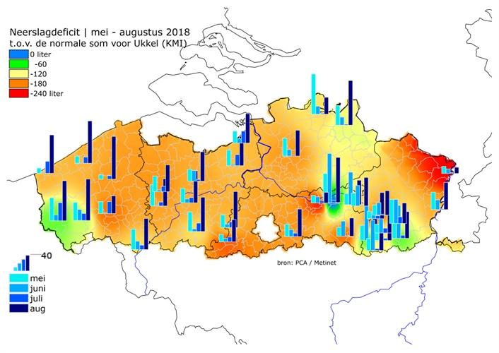 Oost-Vlaanderen gaat alternatieve waterbronnen in kaart brengen